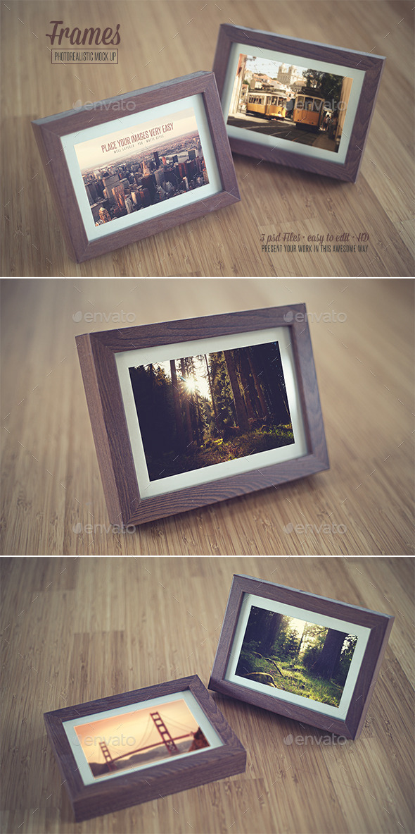 GraphicRiver Frame Realistic Mock Up 9208694