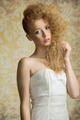 Young girl with curly hair - PhotoDune Item for Sale