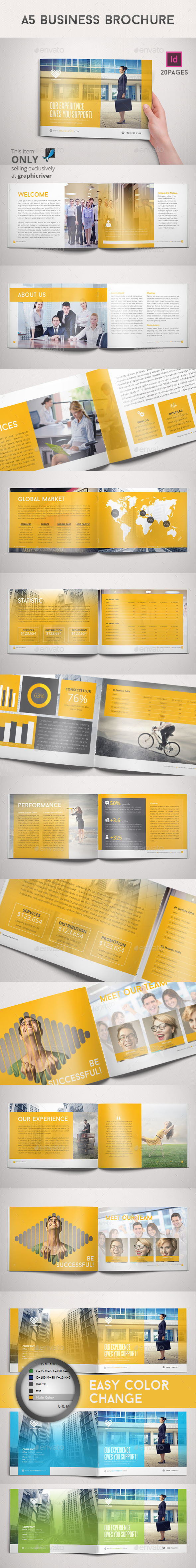 GraphicRiver A5 Business Brochure 9209149