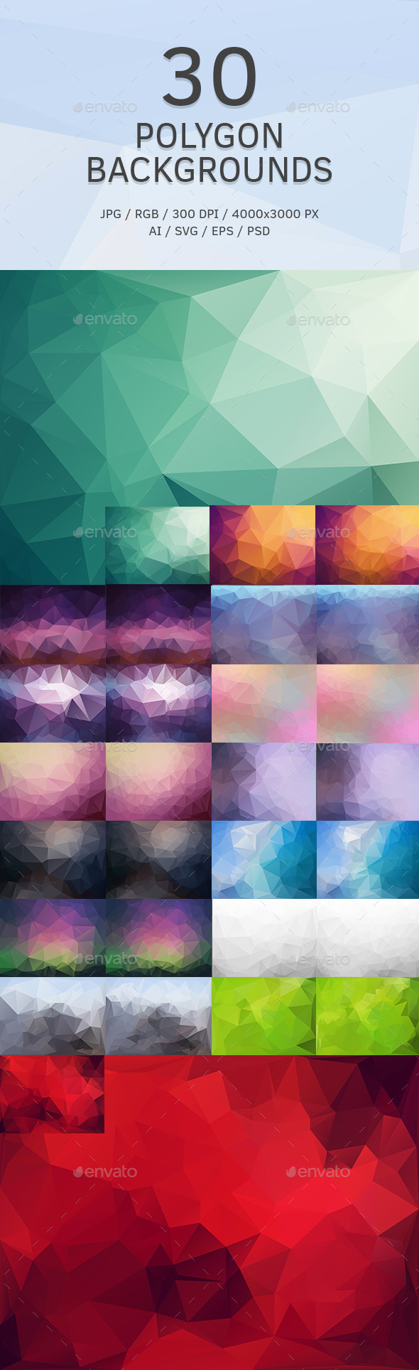 GraphicRiver Polygon Backgrounds or Textures 9164509
