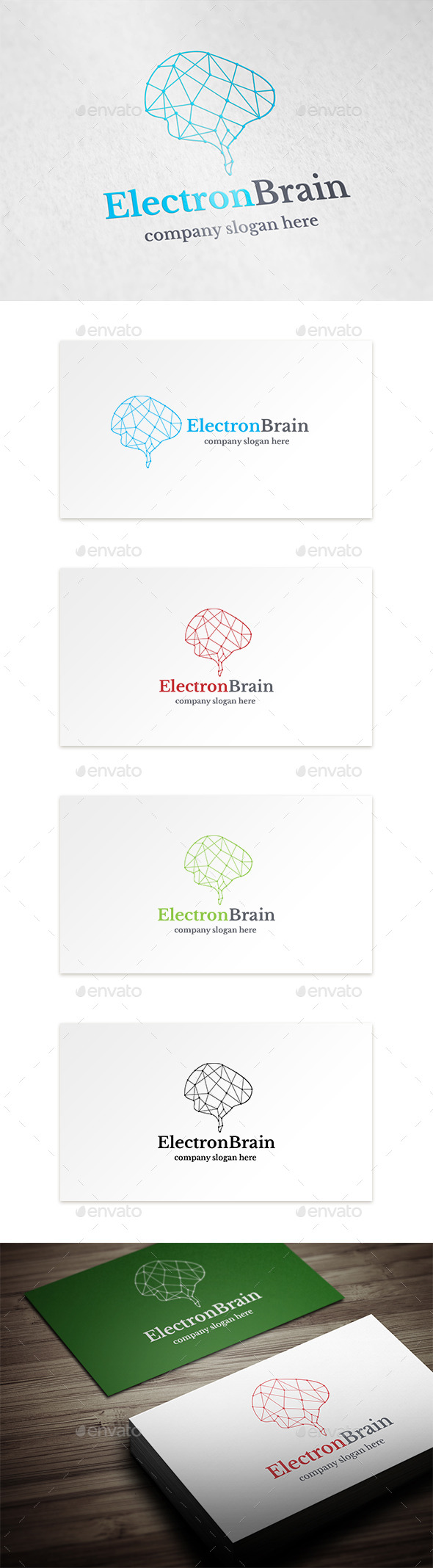 GraphicRiver Electron Brain 9209616