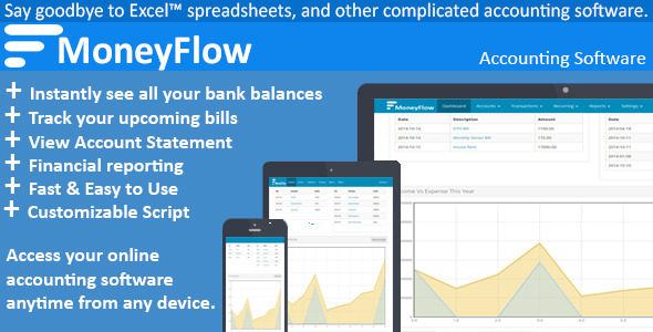CodeCanyon MoneyFlow Accounting Software 9209644