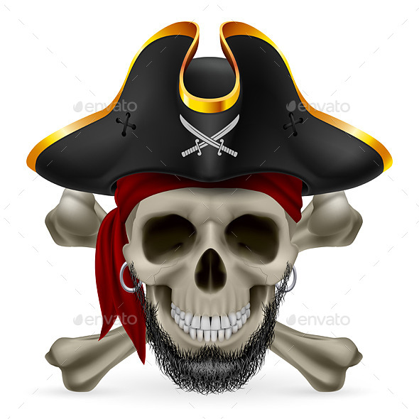 GraphicRiver Pirate Skull 9209740