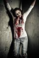 zombie girl - PhotoDune Item for Sale