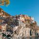 Beautiful seascape of Manarola quaint village in famous Five Lan - PhotoDune Item for Sale