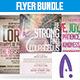 Church Flyer Bundle Vol.1 - GraphicRiver Item for Sale