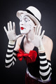 Portrait of theatrical mime - PhotoDune Item for Sale