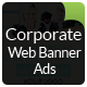 Corporate Web Banner Ads - GraphicRiver Item for Sale