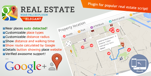 CodeCanyon Real estate near places 9168665