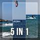 Kitesurfing Pack 5 In 1 - VideoHive Item for Sale