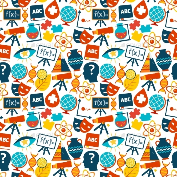 GraphicRiver Education Seamless Pattern 9211509