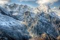 Dombai. Scenery of rockies in Caucasus region in Russia - PhotoDune Item for Sale