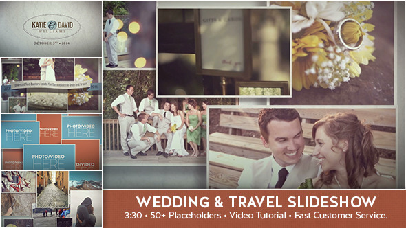 VideoHive Wedding & Travel Slideshow 9211660