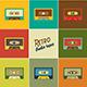 Retro Audio Tapes - GraphicRiver Item for Sale
