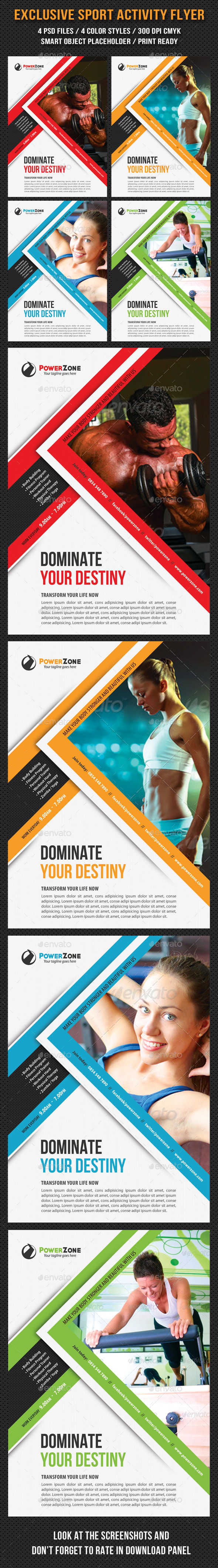 GraphicRiver Sport Multipurpose Flyer 28 9211771
