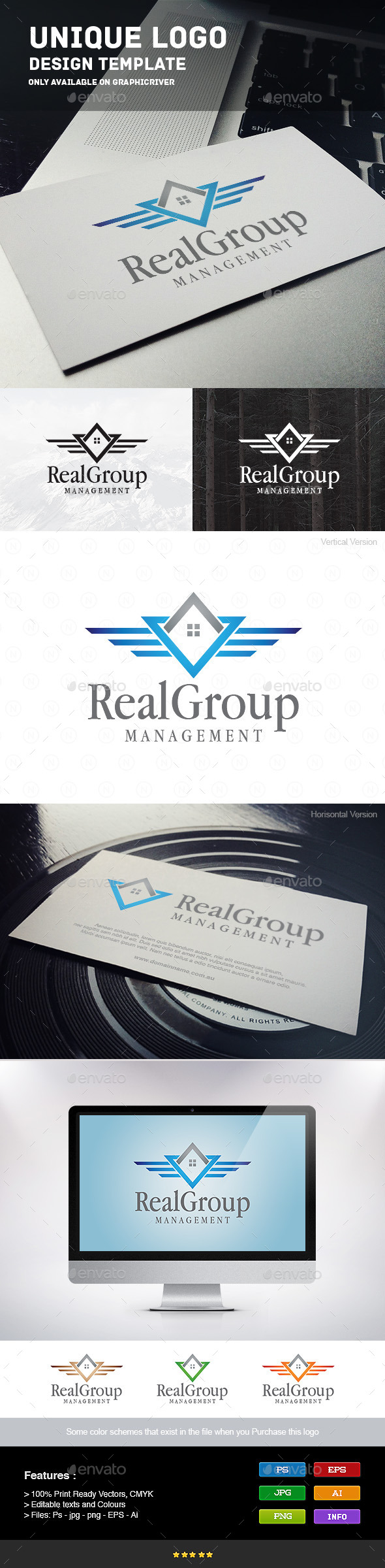GraphicRiver Real Group 9211928