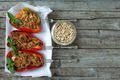 Stuffed Peppers And Pine Seeds - PhotoDune Item for Sale