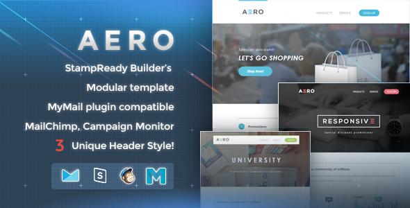 ThemeForest Aero Responsive Email Template 9212163