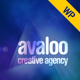 avaloo - One Page Creative Agency WP Theme - ThemeForest Item for Sale