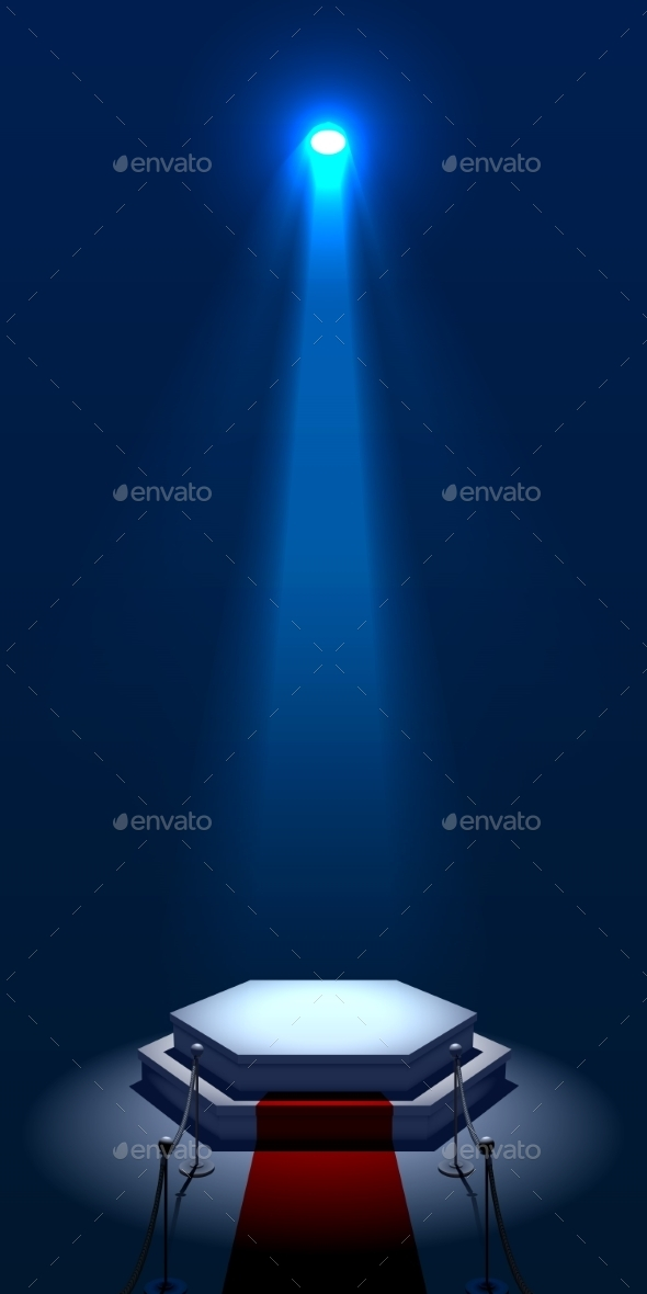 GraphicRiver Illuminated Stage 9212487