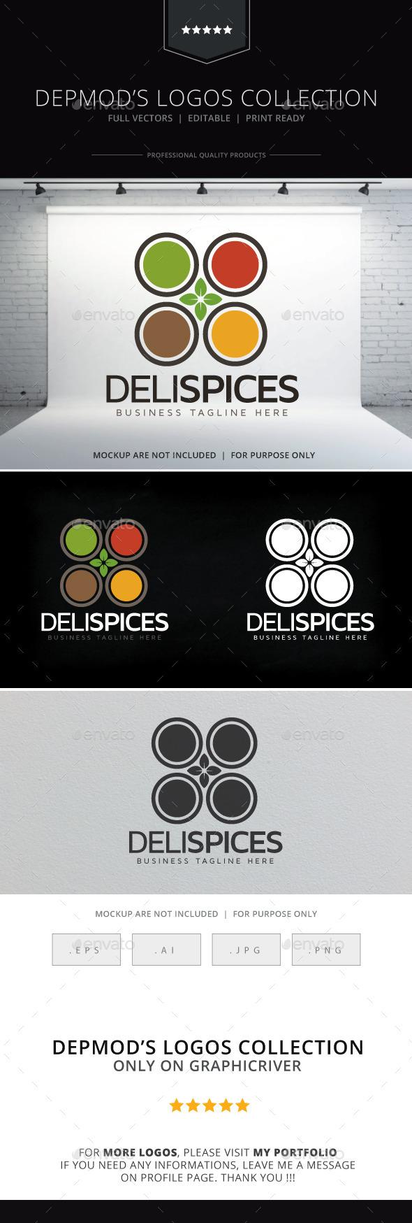 GraphicRiver Deli Spices Logo 9212767