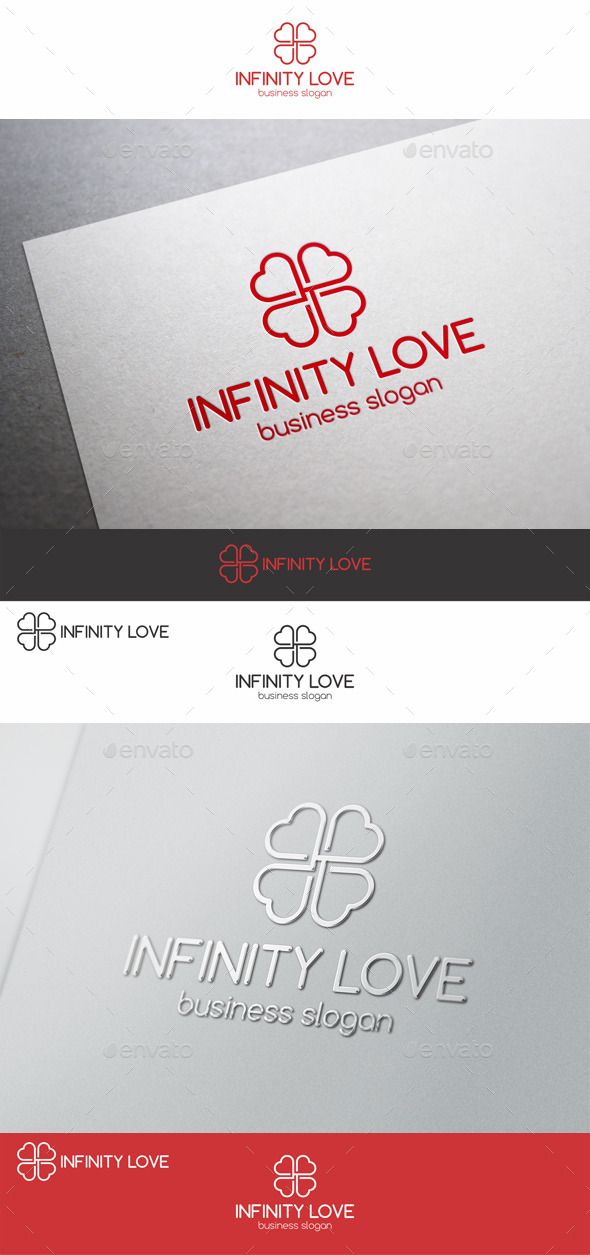 GraphicRiver Infinity Love Logo Template 9212990