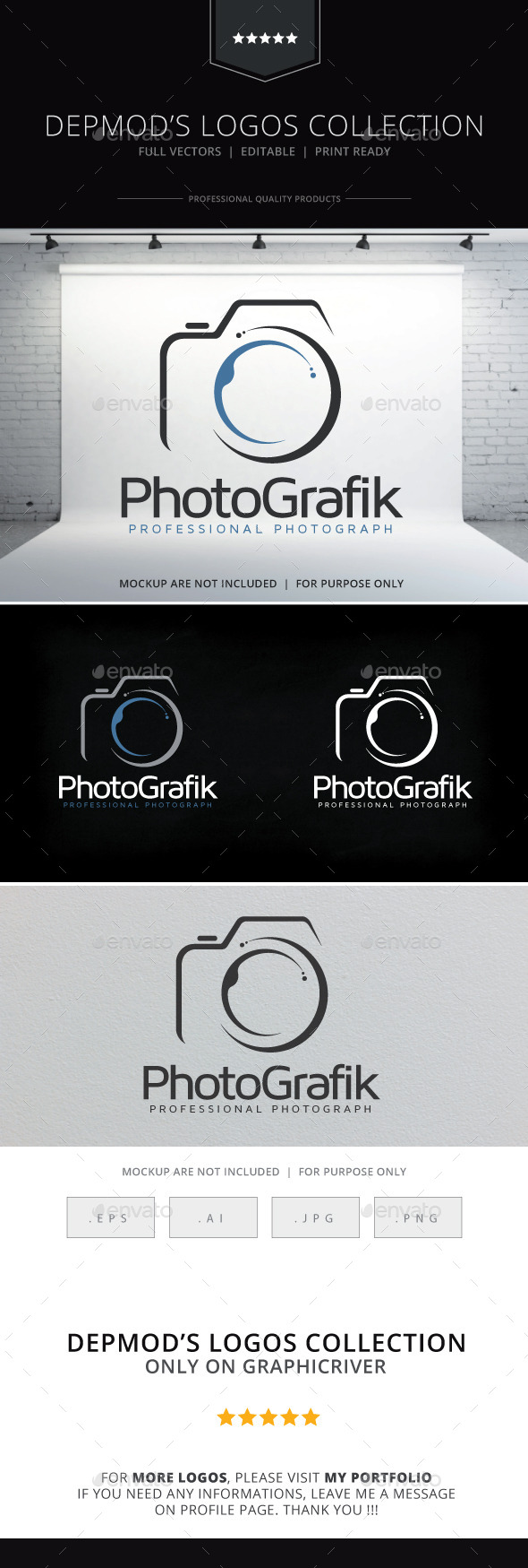 GraphicRiver Photografik Logo 9213061