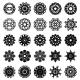 Round Ornament Set - GraphicRiver Item for Sale