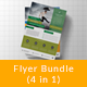 Corporate Flyer Bundle ( 4 in 1 ) - GraphicRiver Item for Sale