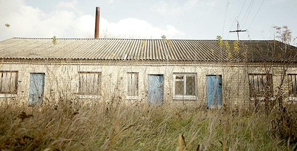 Abandoned Village Bick Building