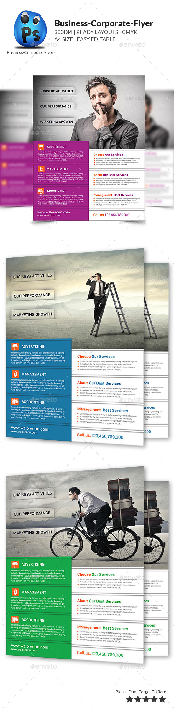 GraphicRiver Best Business Flyers Templates 9213267