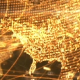 Golden Network Earth Map - VideoHive Item for Sale
