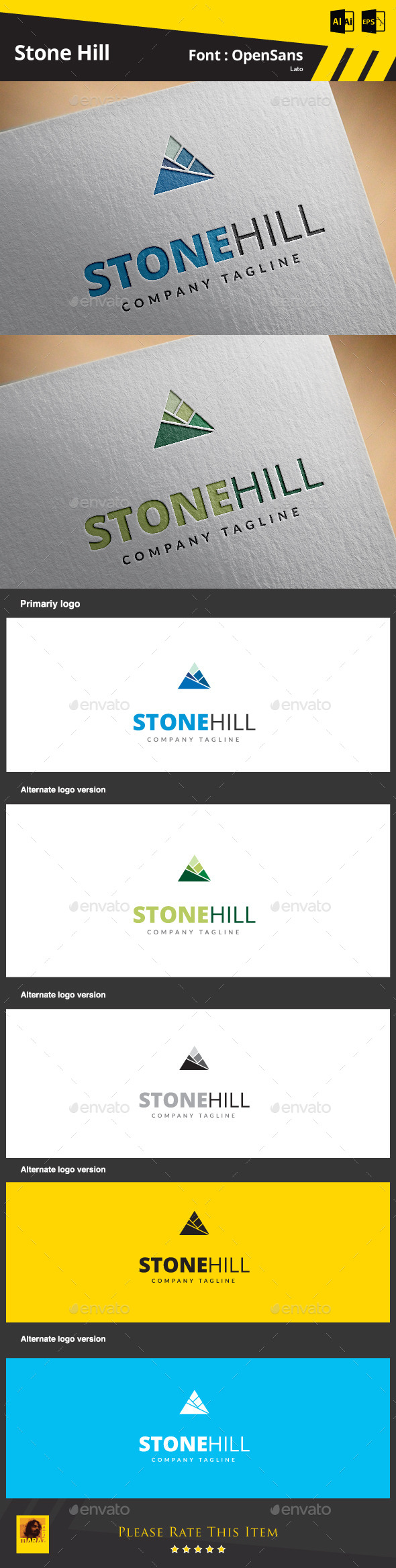 GraphicRiver Stone Hill 9213491