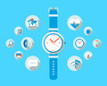 Smart watch concept - flat design - PhotoDune Item for Sale