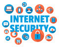 Internet security illustration - PhotoDune Item for Sale