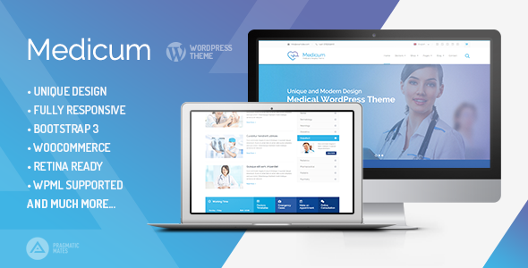 ThemeForest Medicum Health & Medical WordPress Theme 9175981