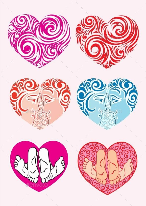 GraphicRiver Heart Decoration 9214539