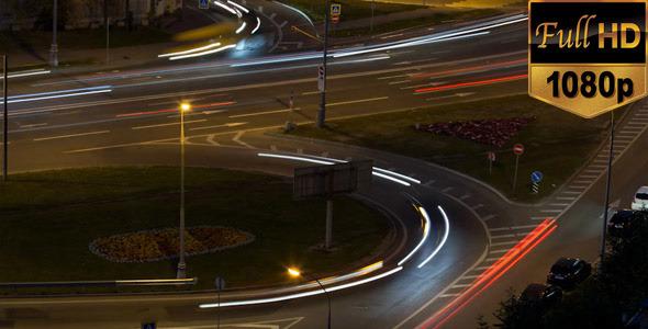 Triangle and Circular Night Traffic