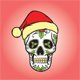 Christmas Skull - GraphicRiver Item for Sale