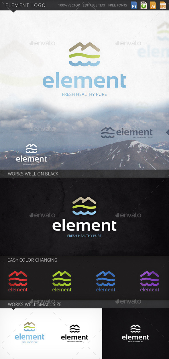 GraphicRiver Element Logo 9214995
