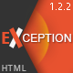 EXCEPTION - Responsive Business HTML Template - ThemeForest Item for Sale