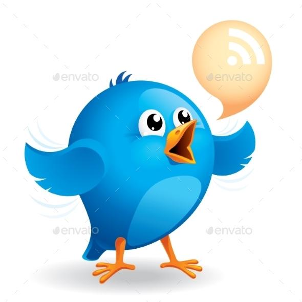 GraphicRiver Blue Bird 9215147