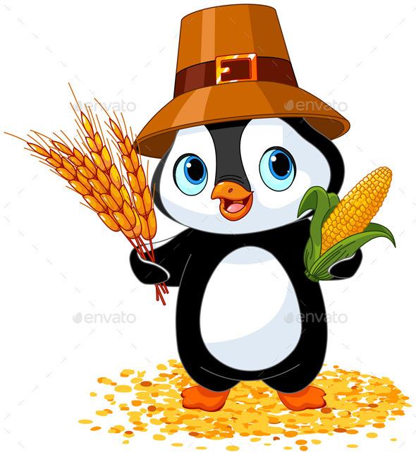 GraphicRiver Penguin Farmer 9215184