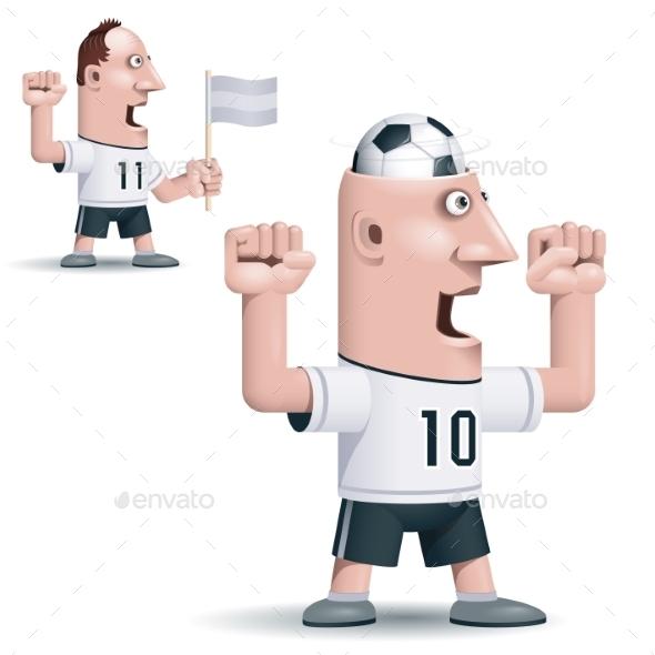 GraphicRiver Soccer Fan 9215372