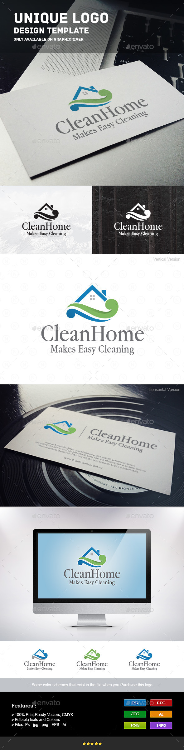 GraphicRiver Home Cleaning 9215616
