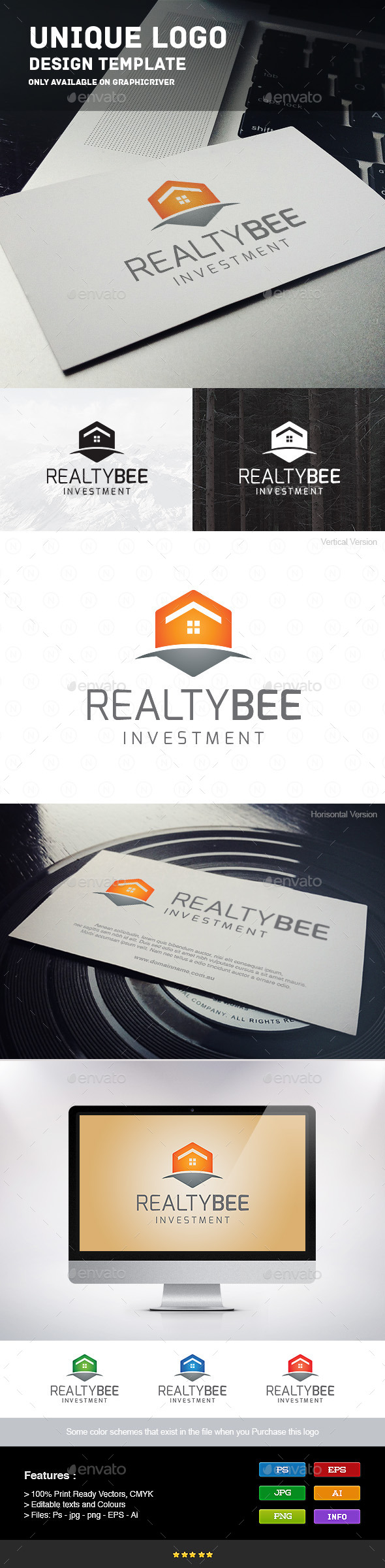 GraphicRiver Realty Bee 9215647