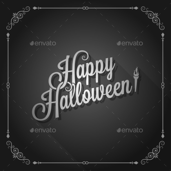 GraphicRiver Halloween Background 9215727