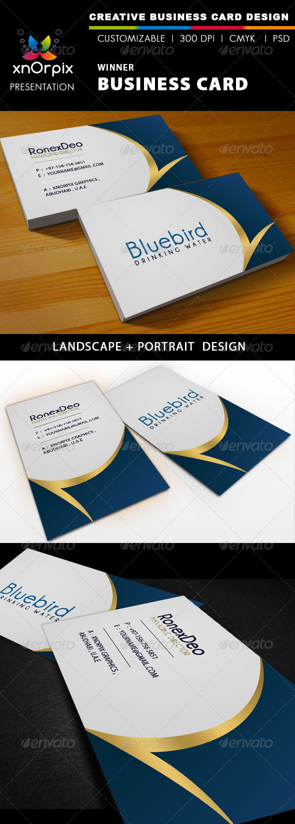 GraphicRiver Winner Business Card 941078