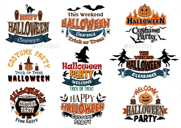GraphicRiver Halloween Designs 9216047