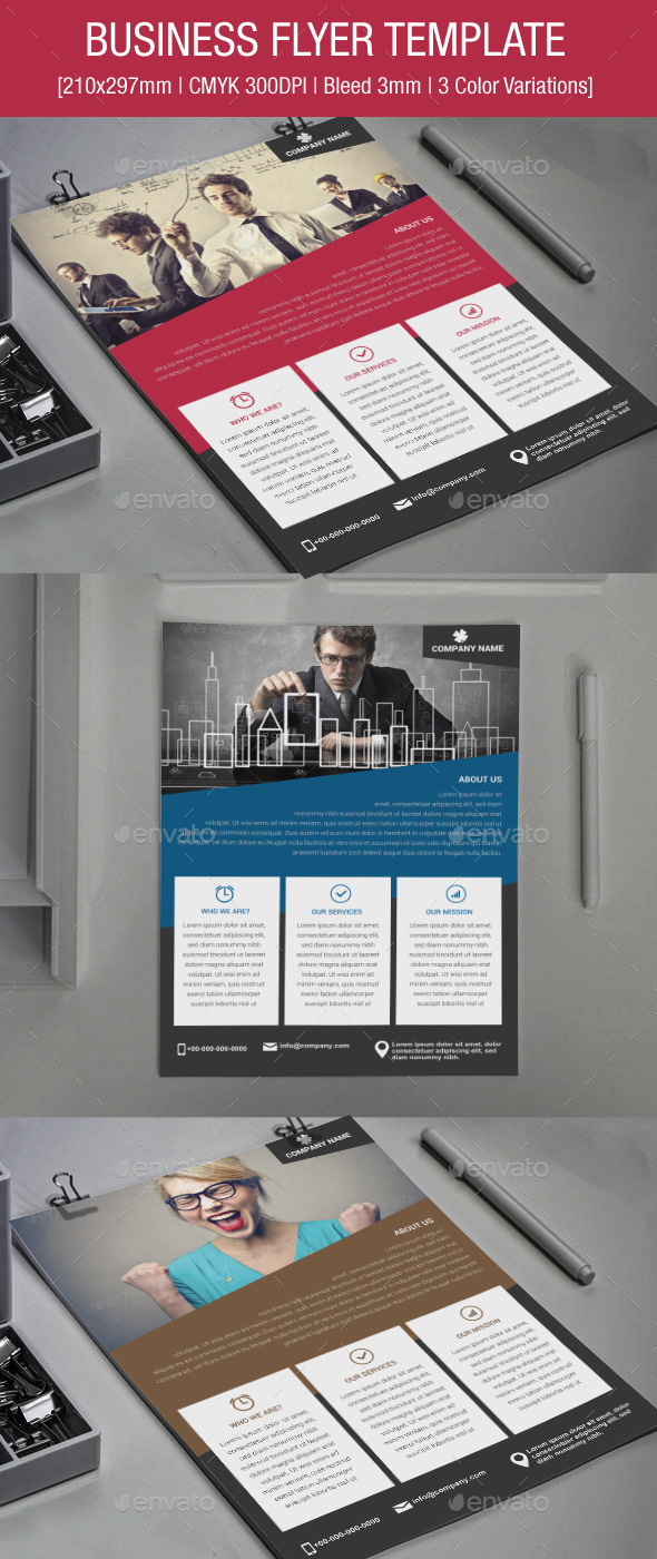 GraphicRiver Business Flyer 9216134